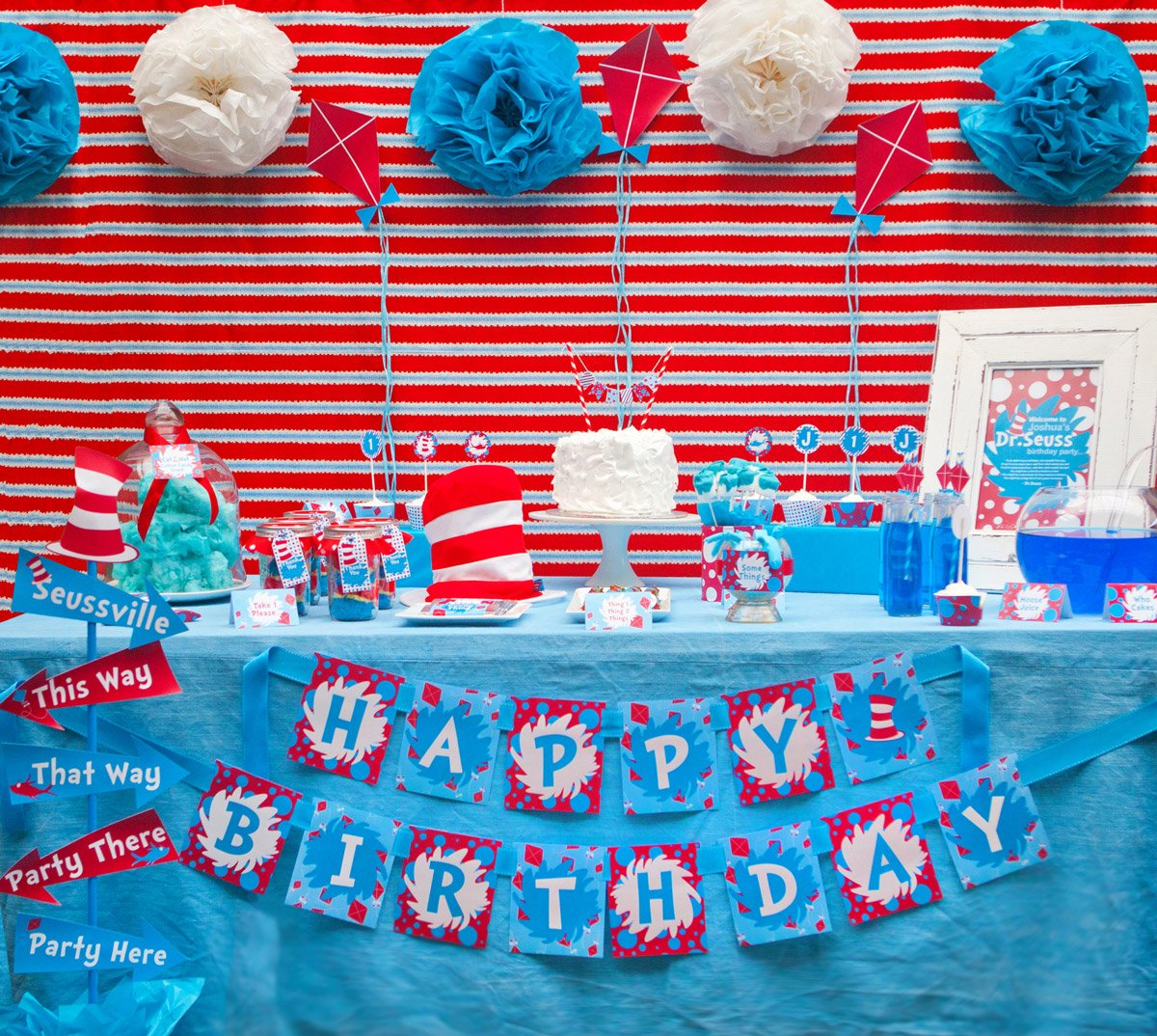 Free Dr Seuss Party Printables Sunshine Parties