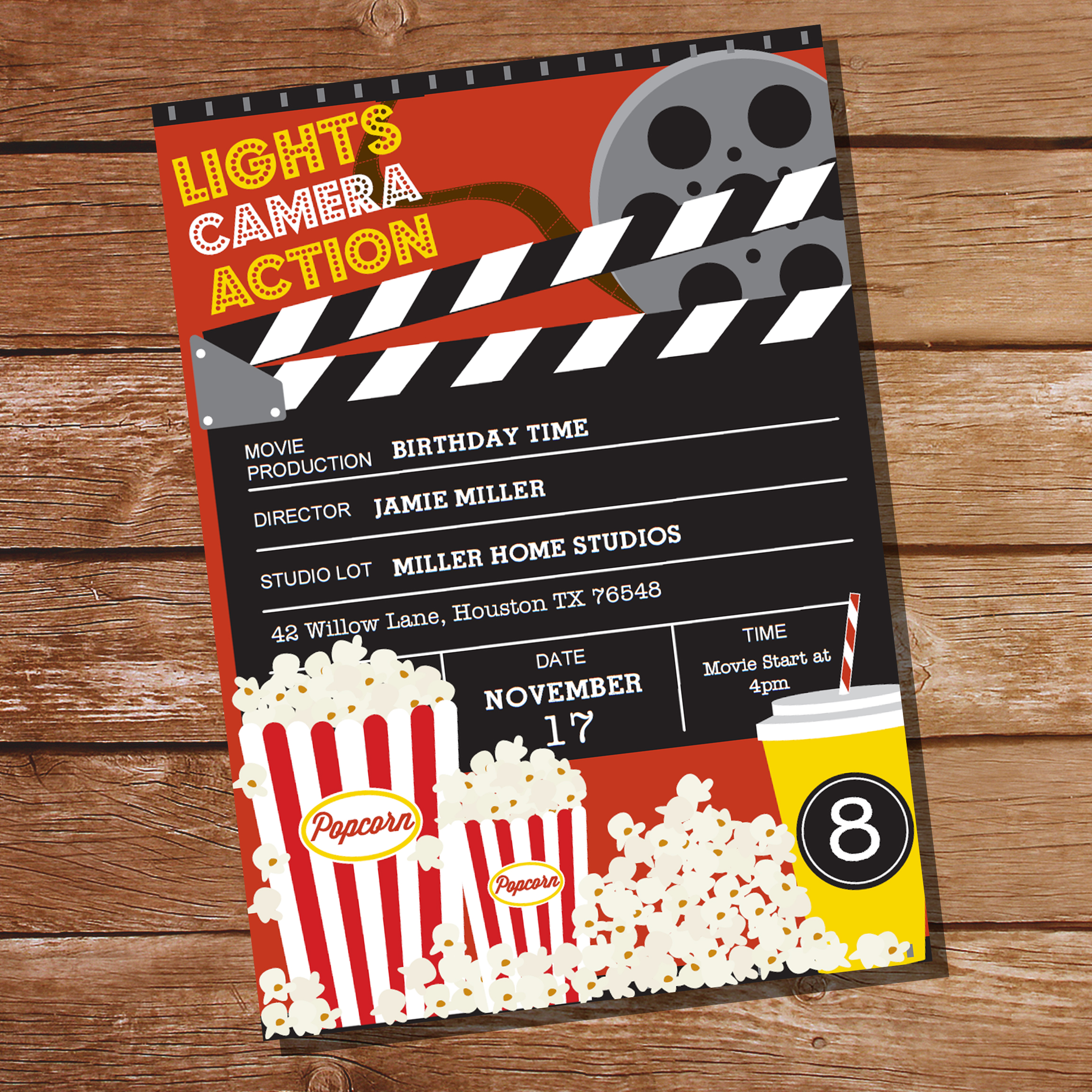 This is a picture of Geeky Printable Movie Ticket
