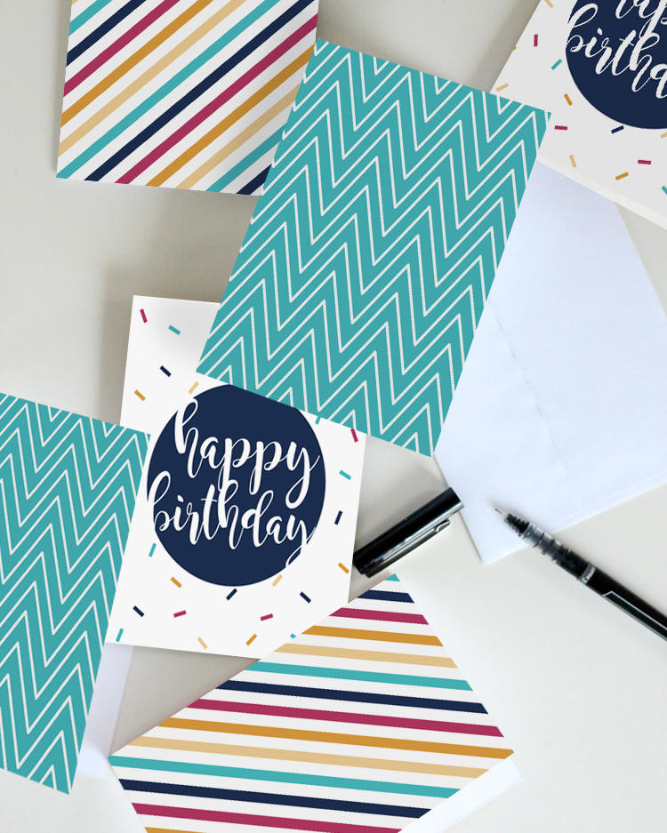 Three Free Birthday Card Printables Instant Download And Print