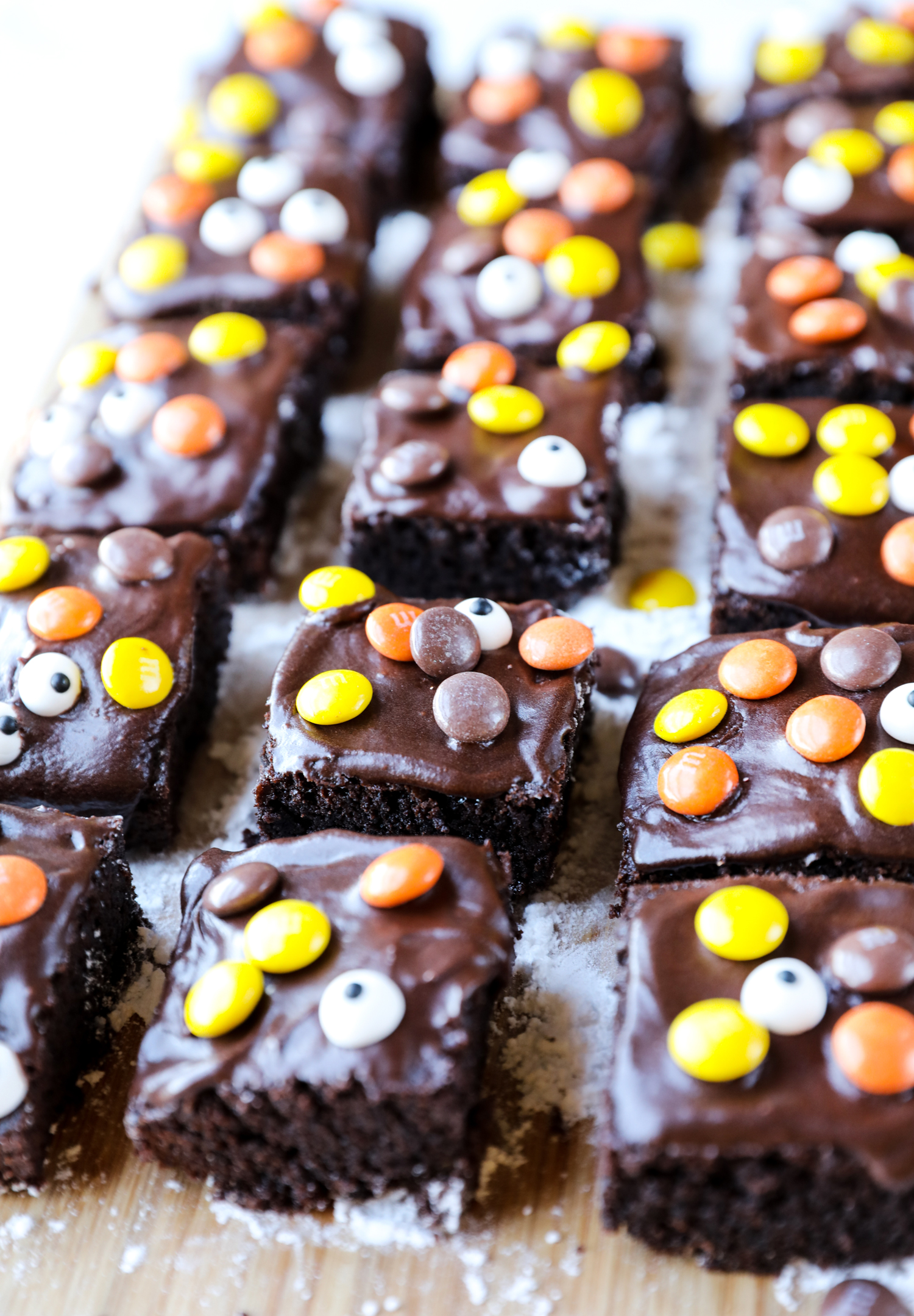 Easy Halloween Witches Brew Brownies